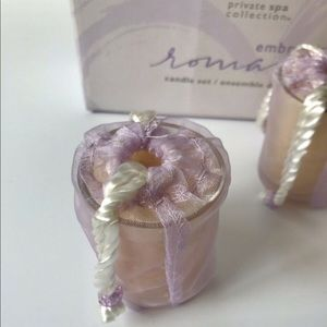 Mary Kay Accents - Mary Kay candle gift set of 3